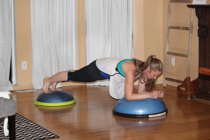 bosu sport and bosu ball forearm plank
